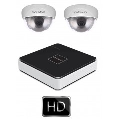 IP Camera Kit - 2x IP Camera + NVR - Overmax Camspot 3.0 HD