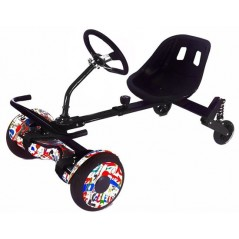 HoverKart Rider for 6.5, 8, 10 inch hoverboard Seat