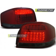 LDAU67 AUDI A3 05.03-08 RED SMOKE LED