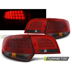 LDAU91 AUDI A3 8P 04-08 SPORTBACK RED SMOKE LED