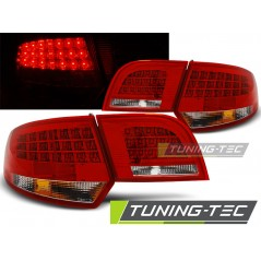 LDAU90 AUDI A3 8P 04-08 SPORTBACK RED WHITE LED