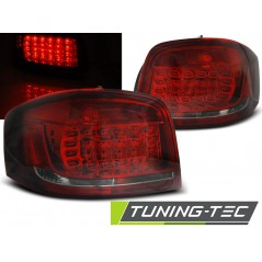LDAUB7 AUDI A3 08-12 RED SMOKE LED