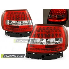 LDAU47 AUDI A4 11.94-09.00 RED WHITE LED