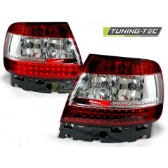 LDAU25 AUDI A4 B5 11.94-09.00 RED WHITE LED