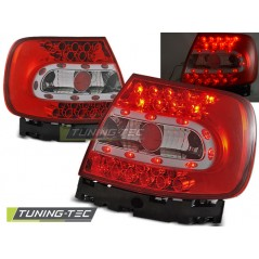 LDAU07 AUDI A4 B5 11.94-10.00 RED WHITE LED
