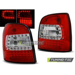 LDAU93 AUDI A4 94-01 ESTATE RED WHITE LED