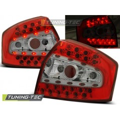 LDAU33 AUDI A4 8E 10.00-10.04 SALOON RED WHITE LED