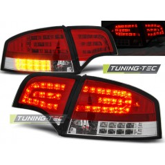 LDAU70 AUDI A4 B7 11.04-03.08 SALOON RED WHITE LED