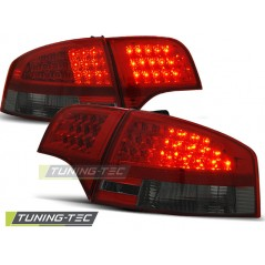 LDAU54 AUDI A4 B7 11.04-11.07 SALOON RED SMOKE LED