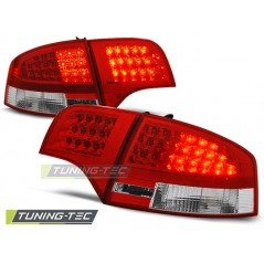 LDAU53 AUDI A4 B7 11.04-11.07 SALOON RED WHITE LED