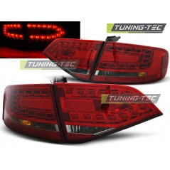 LDAU89 AUDI A4 B8 08-11 SALOON RED SMOKE LED