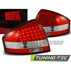 LDAU03 AUDI A6 97-04 RED WHITE LED