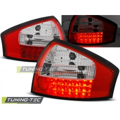LDAU13 AUDI A6 05.97-05.04 RED WHITE LED
