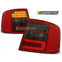LDAU40 AUDI A6 05.97-05.04 ESTATE RED SMOKE LED