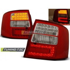 LDAU04 AUDI A6 05.97-05.04 ESTATE RED WHITE LED