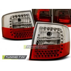 LDAU51 AUDI A6 05.97-05.04 ESTATE RED WHITE LED