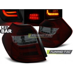 LDBM83 BMW E87/E81 04-08.07 RED SMOKE LED BAR