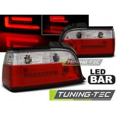 LDBM77 BMW E36 12.90-08.99 C/C RED WHITE BAR LED