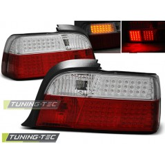 LDBM36 BMW E36 12.90-08.99 COUPE RED WHITE LED