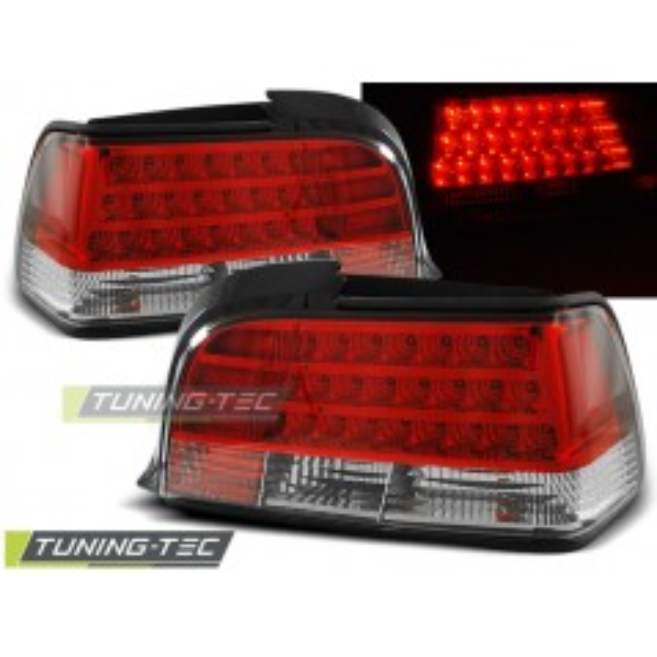LDBM03 BMW E36 12.90-08.99 COUPE RED WHITE LED
