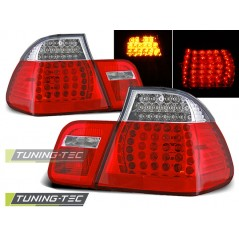 LDBM78 BMW E46 09.01-03.05 SALOON RED WHITE LED