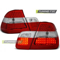 LDBM58 BMW E46 09.01-03.05 SALOON RED WHITE LED