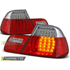 LDBM08 BMW E46 04.99-03.03 COUPE RED WHITE LED