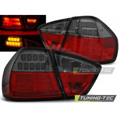 LDBM73 BMW E90 03.05-08.08 RED SMOKE LED BAR