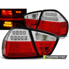 LDBM72 BMW E90 03.05-08.08 RED WHITE LED BAR