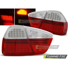 LDBM67 BMW E90 03.05-08.08 RED WHITE LED INDIC.