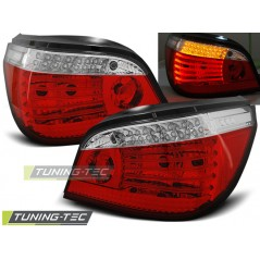 LDBM62 BMW E60 07.03-07 RED WHITE LED