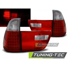LDBMA3 BMW X5 E53 09.99-06 RED WHITE LED