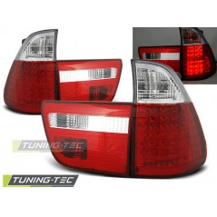 LDBM21 BMW X5 E53 09.99-10.03 RED WHITE LED