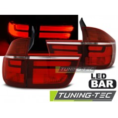 LDBME2 BMW X5 E70 03.07-05.10 RED WHITE LED