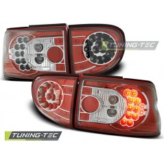 LDFO11 FORD ESCORT MK6/MK7 93-00 RED WHITE LED