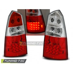 LDFO02 FORD FOCUS MK1 10.98-10.04 ESTATE RED WHITE LED
