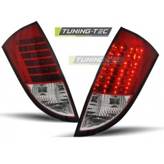 LDF024 FORD FOCUS 1 HB 98-04 RED WHITE LED