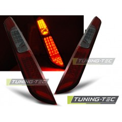 LDFO28 FORD FOCUS MK2 09.04-08 HB RED SMOKE LED