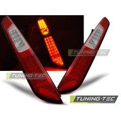 LDFO27 FORD FOCUS MK2 09.04-08 HB RED WHITE LED