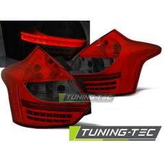 LDFO39 FORD FOCUS 3 11- 10.14 HATCHBACK RED SMOKE LED