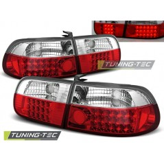 LDHO01 HONDA CIVIC 09.91-08.95 3D RED WHITE LED
