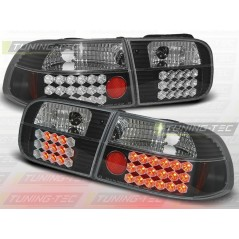LDHO06 HONDA CIVIC 09.91-08.95 2D/4D BLACK LED