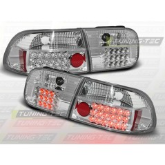 LDHO05 HONDA CIVIC 09.91-08.95 2D/4D CHROME LED