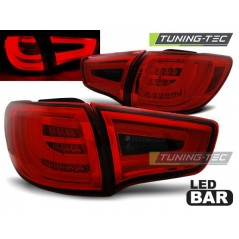 LDKI02 KIA SPORTAGE III 10- RED SMOKE LED BAR