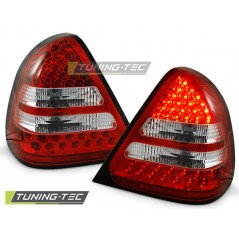 LDME14 MERCEDES W202 C-CLASS 06.93-06.00 RED WHITE LED