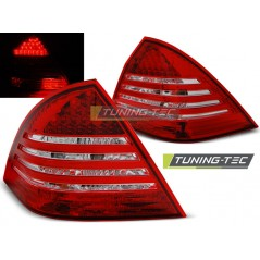 LDME59 MERCEDES C-CLASS W203 SALOON 00-04 RED WHITE LED