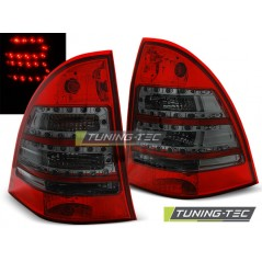 LDME63 MERCEDES C-CLASS W203 ESTATE 00-07 RED SMOKE LED