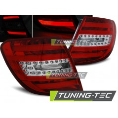 LDME75 MERCEDES C-CLASS W204 ESTATE 07-10 RED WHITE LED BAR