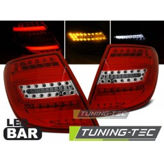 LDME83 MERCEDES C-CLASS W204 ESTATE 07-10 RED WHITE LED BAR