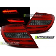 LDME66 MERCEDES C-CLASS W204 SALOON 07-10 RED SMOKE LED BAR